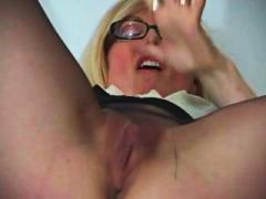 Nina Hartley, lingerie, collant, meia fina, divertido, mamãe sexy
