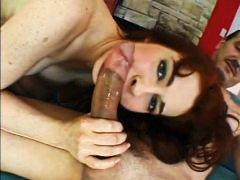 anal, hairy, hardcore, milf, redhead, masturbating, anal sex, sex, riding, fake tits