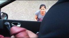 في السيارة, تعرى علناً, استراق النظر, في العلن