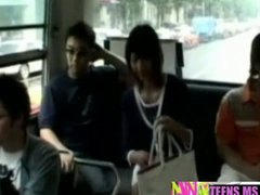 ანალური, აზიელი, ავტობუსი
