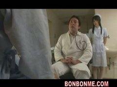 آسيوى, الطبيب, ممرضات, نيك ثلاثى, مجموعات