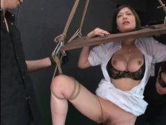 asian, bdsm, bondage, group, humiliation, japanese, nurse, story, uniform, pussy play