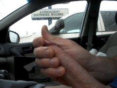 في السيارة, رعشة, ذكور
