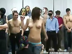 amateur, bang, busty, czech, gangbang, girl, homemade, party, reality, gang