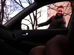 في السيارة, تعرى علناً, بنات, في العلن, روسيات