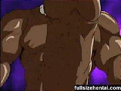 animação, asiático, cartoon, caralho, mulher, hentai, manga, magrinha