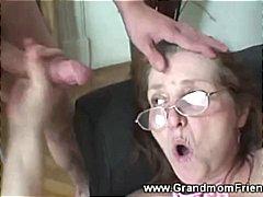 إمناء على الوجه, مسنات, نساء هائجات, خبيرات, نيك ثلاثى