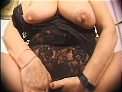grote prachtige vrouw, oma, masturbatie, dildo