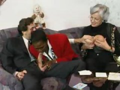 ბებია, მოწიფული, ორგია, ჯგუფი