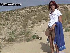 პლაჟი, სასქესო ორგანოების დანახება