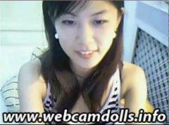 آسيوى, بنات جميلات, على السرير, كس مشعر, يابانيات, عرى
