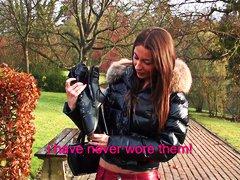 أحذية طويلة, أول مرة, فرنسيات, مراهقات, بنات جميلات