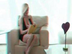 أفلام ثلاثية الأبعاد, بنات جميلات, شقراوات