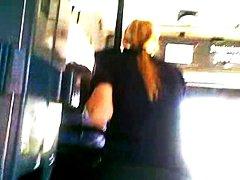 في الحافلة, تعرى علناً, كاميرا مخفية, في العلن