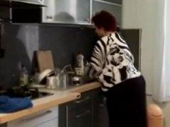 نساء بدينات جميلات, بدينات, مسنات, في المطبخ, خبيرات