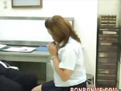 asiático, mulher bonita grande, boquete, peitudas, doutor, peluda, japonês, lambida, oral, jovem