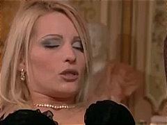Melissa Black, anaal, kont, blond, aangekleed, tsjechisch, klaarkomen op het gezicht, wijd open, hard