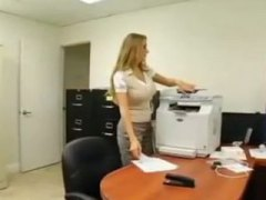Megan Jones, ass, blonde, busty, cumshot, office, reality, secretary, doggystyle, big tits, megan jones