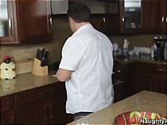 ميستي ستون, طيز, زنوج, في المطبخ, نشوة, بزاز, نهود كبيرة