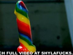 Shyla Stylez, Tyler Faith, loura, lésbica, estrela pornô, provocante, peitões