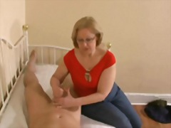 mom, old + young, cumshots, handjobs, knows, best