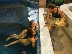 مص, كلاسيكى, القذف, مجموعات, حفلة, حمام السباحة