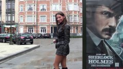 boots, heels, leather, smoking, softcore, teens, high heels, public nudity, high, outfit