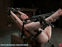 bdsm, bondage, dildo, domination, slave, tied, masochism, bound, brunettes, devices