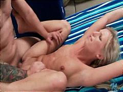 блондинки, минет, глубокая глотка, жесткий секс