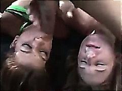 ريو ماريه, جين بادوفا, مص, القذف, داخل الحلق, الوجة