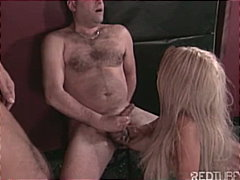 blonde, brunette, masturbation, strap-on, wanking, caucasian, group sex, cum shot