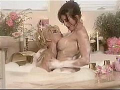 loura, trigueira, compilation, lésbica, striptease, beijando, peitões