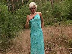 blonde, couple, masturbation, outdoor, public, caucasian