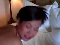 asiático, esperma no rosto, madura, mamãe sexy, tailandês, mamas, peitões