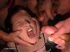 امناء الرجال على امرأة, أوروبى, إمناء على الوجه