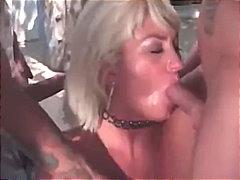Dana Hayes, anal, blonde, cumshot, facial, gangbang, granny, mature, milf, outdoor, penetration