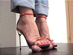 القذف, نساء مسيطرات, حب الأرجل