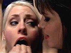 bdsm, bondage, domination, lesbian, gagging, torture, tied up, tickling, lezdom