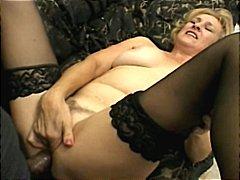 blondes, matures, double penetration