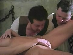 classic, threesome, uniform, vintage, hot pussy