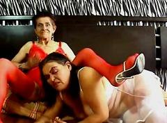 amadora, webcam, avó