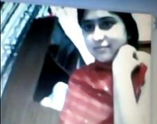 asiático, webcam