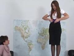 بريطانية, السمراوات, فتشية, خبيرات, مراهقات, لعبة