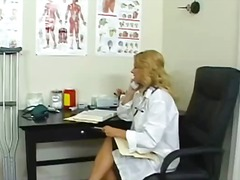 Handjob In Doctor's Office