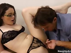 glasses, teacher, sex, cum, fucks, blo, class, lane, tessa