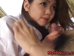 japanese, nurse, oriental, uniform, beauty, cocksucking, blow job, adorable, ai niimura