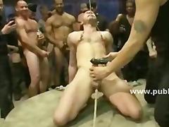 anaal, sadomasochisme, pijpen, vastbinden, fetisj, gay, groep, hard, kanjer, leer
