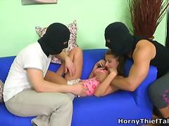 جنس ثلاثى, شرجى, عربى, ولد, ممتلئات, نائمات, مراهقات