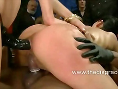 bdsm, bondage, extreme, fetish, humiliation, leather, public, slave, spank, bizzare