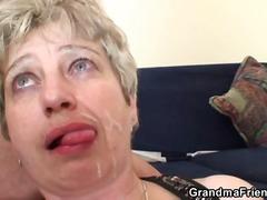 ბებია, მოწიფული